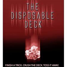 Disposable Deck Dvd & Bicycle Gimmicks By David Regal Magic Card Tricks Gaff