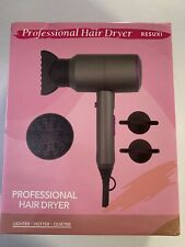 Hair Dryer, Professional Salon 1800W Negative Ionic Blow Dryer Fast Drying (D4)