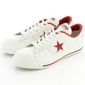 【DHL】New Converse ONE STAR J White × Red Limeted rare 32346512 MADE IN JAPAN