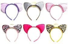 Cat Ears Kitten Fancy Dress Halloween Fancy Dress Accessories Girls Ladies