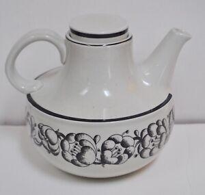 Gustavsberg Sweden Stig Lindberg GARDEN Teapot Carafe