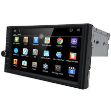 US Multimedia Single 1 Din Stereo USB/BT/Mirror Link GPS Nav Car Bluetooth Radio