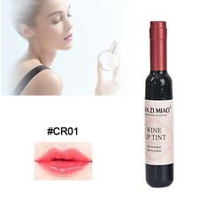 Red Wine Lip Tint Liquid Matte Lipstick Waterproof Design Bottle Fashion CR01 #A