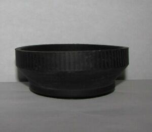 Used 62mm Rubber Lens Hood Shade for telphoto lenses B20224