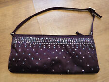 Topshop Small Purple Sequin Bag