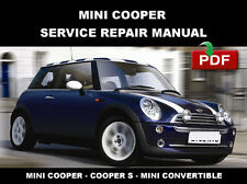 MINI COOPER 2002 2003 2004 2005 2006 SERVICE REPAIR WORKSHOP MAINTENANCE MANUAL