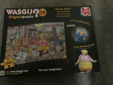 Sale.1 only Wasgij Xmas puzzle by Jumbo no.12 'The Beauty Salon'.1000 Pc.GC.B Cy