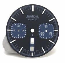 Replacement Dial for Vintage Seiko Bullhead 6138-0040 6138-0049 Black Dial