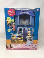 NRFB Barbie Bake Shop & Cafe Play Set 1999 Mattel SEALED