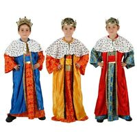 Costume vestito Re Magio Magi presepe Natale Carnevale bambino travestimento