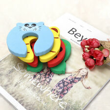 4PCS Door Stops Lock Finger Baby Kids Protector Stopper Safety Pinch Guards UK