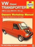 VW Transporter Diesel (T4) Repair Manual 1990 - 2003