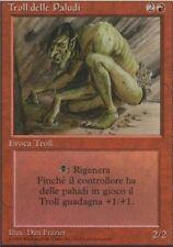 MTG SEDGE TROLL ITALIAN - PLAYED/ROVINATO TROLL DELLE PALUDI FBB - REV