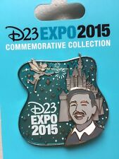 Disney D23 Expo 2015 Walts Kingdom Pin Sold Out LE Limited Edition Tinker Bell