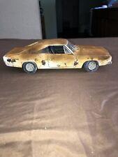 1/18 Scale Die Cast Barn Find Weathered Junkyard Custom Car 69 Dodge Charger R/T