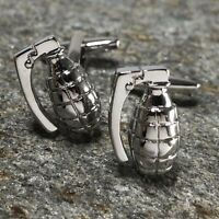 Grenade Cufflinks / US Army / Military Gifts