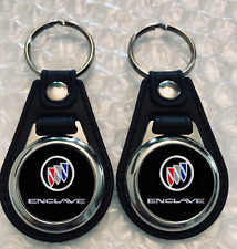 BUICK ENCLAVE KEYCHAIN FOB 2 PACK SET