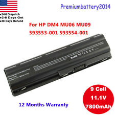 9Cell Spare Battery for HP Compaq MU06 MU09 593553-001 593554-001 G62 CQ42 G72
