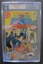 DC Comics ~ New Teen Titans #2 PGX 9.0 VF/NM ~ NEWSSTAND EDITION RARE!!