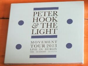 NEW/SEALED CD: Movement (New Order) - Peter Hook & The Light (2013 tour,Dublin)