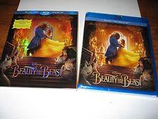 Beauty and the Beast: Disney, (Blu-ray/DVD+Digital Copy) New + I Ship Faster
