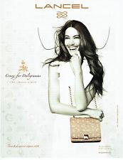 Publicité Advertising 028  2011   sac Lancel  Daligramme par Dali Gala