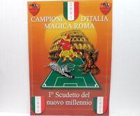 CAMPIONI D'ITALIA POSTER Magica Roma il 1° scudetto del nuovo MILLENNIO cm 69x48