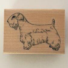 Stamp Cabana Rubber Stamp Lakeland Terrier Dog Animal Pet Puppy Card Making