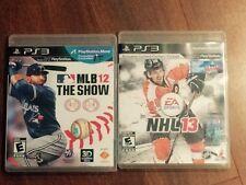 MLB 2012 & NHL 2013 (PS3)