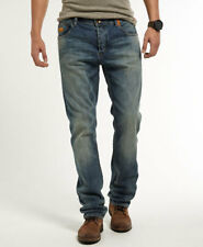 SUPER DRY ORIGINAL BRANDED Men's/ SKIN fit STRETCHABLE JEANS@WHOLESALE PRICE 32