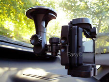 CAR WINDSHIELD SUCTION MOUNT FOR SAMSUNG GALAXY S/S4/S6 MOTOROLA DROID CLIQ EVO