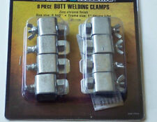 8 Piece Butt Welding Clamps For Metal Joint Auto Body Repairs etc RUST RESISTANT