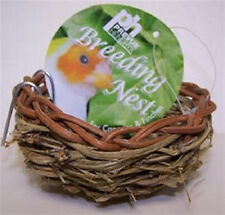 """PREVUE CANARY TWIG NEST 3"""" BED BIRD GREAT FOR BREEDING. FREE SHIPPING IN THE USA"""