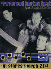 REVEREND HORTON HEAT 2000 NIGHT IN THE BOX PROMO POSTER