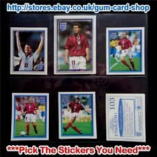 MERLIN'S OFFICIAL ENGLAND - WORLD CUP 98 (100 TO 199) *PLEASE CHOOSE STICKERS*
