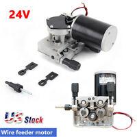 76ZY-02AV Wire Feed Welder Motor Machine DC24 1.2-1.6mm Roller,Speed 2.0-24m/min