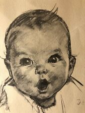 1931 GERBER BABY Lithograph Print *FREE SHIPPING*