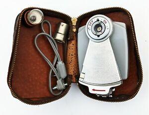 Richo Bulb Flash with original case and a bulb