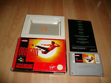 DRAGON THE BRUCE LEE STORY DE VIRGIN PARA LA SUPER NINTENDO USADO COMPLETO