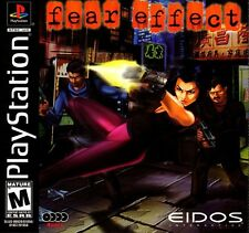 Fear Effect (PSX, 2000) *Brand New/Sealed*
