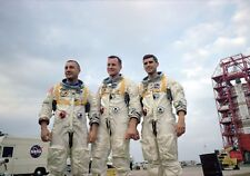 1967-APOLLO 1 Fire in Their Capsule-Astronauts Killed-Grissom-White-Chaffee