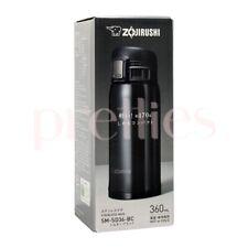 ZOJIRUSHI Stainless Steel Mug Bottle 360ml (SD-36) Black