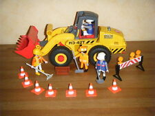 Playmobil lot chantier/engin/tractopelle