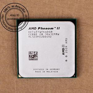 AMD Phenom II X6 1045T - 2.7 GHz (HDT45TWFK6DGR) Sockel AM3 Six Core CPU 667 MHz