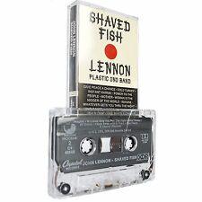 SHAVED FISH JOHN LENNON Plastic Ono Band Cassette Tape Album Vintage C4-4662
