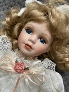 Carolyn Alberon Porcelain Doll (the Queensberry Collection) Rare Limited Edition