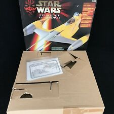 Star Wars Episode 1 NABOO Star Fighter Toy Vehicle EMPTY BOX & PACKAGING