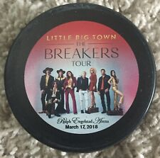 Little Big Town The Breakers Tour commemorative hockey puck March 17th, 2018