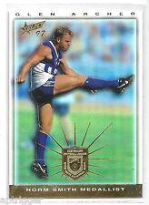 1997 Select Medal (M4) Norm Smith Medallist Glen ARCHER North Melbourne ***