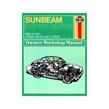 Sunbeam Alpine Rapier H120 1.7 Petrol 1967-74 (up to N Reg) Haynes Manual